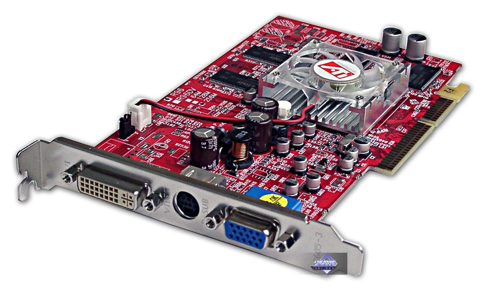 скачать драйвер на радеон 9600 pro