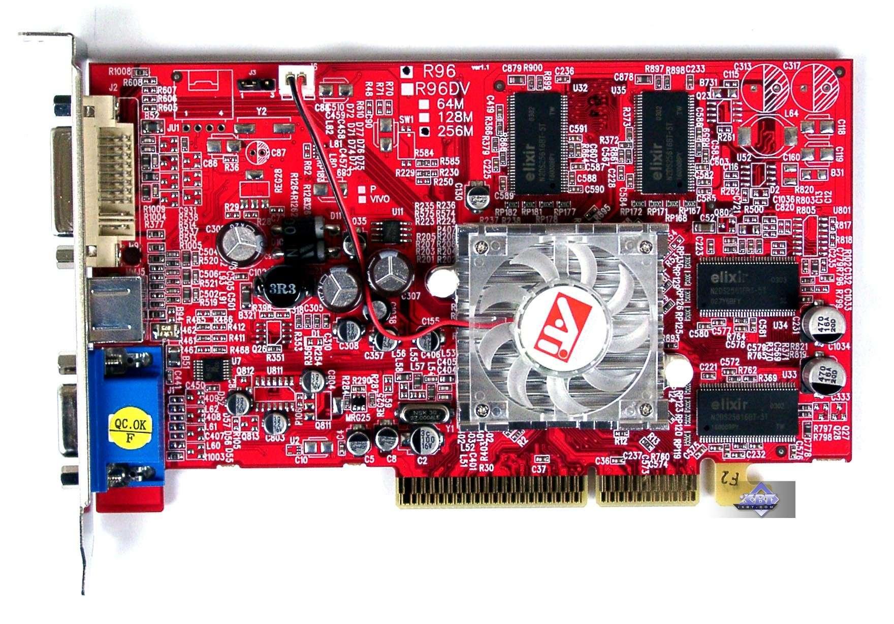 Скачать драйвера для видеокарты 9600 pro