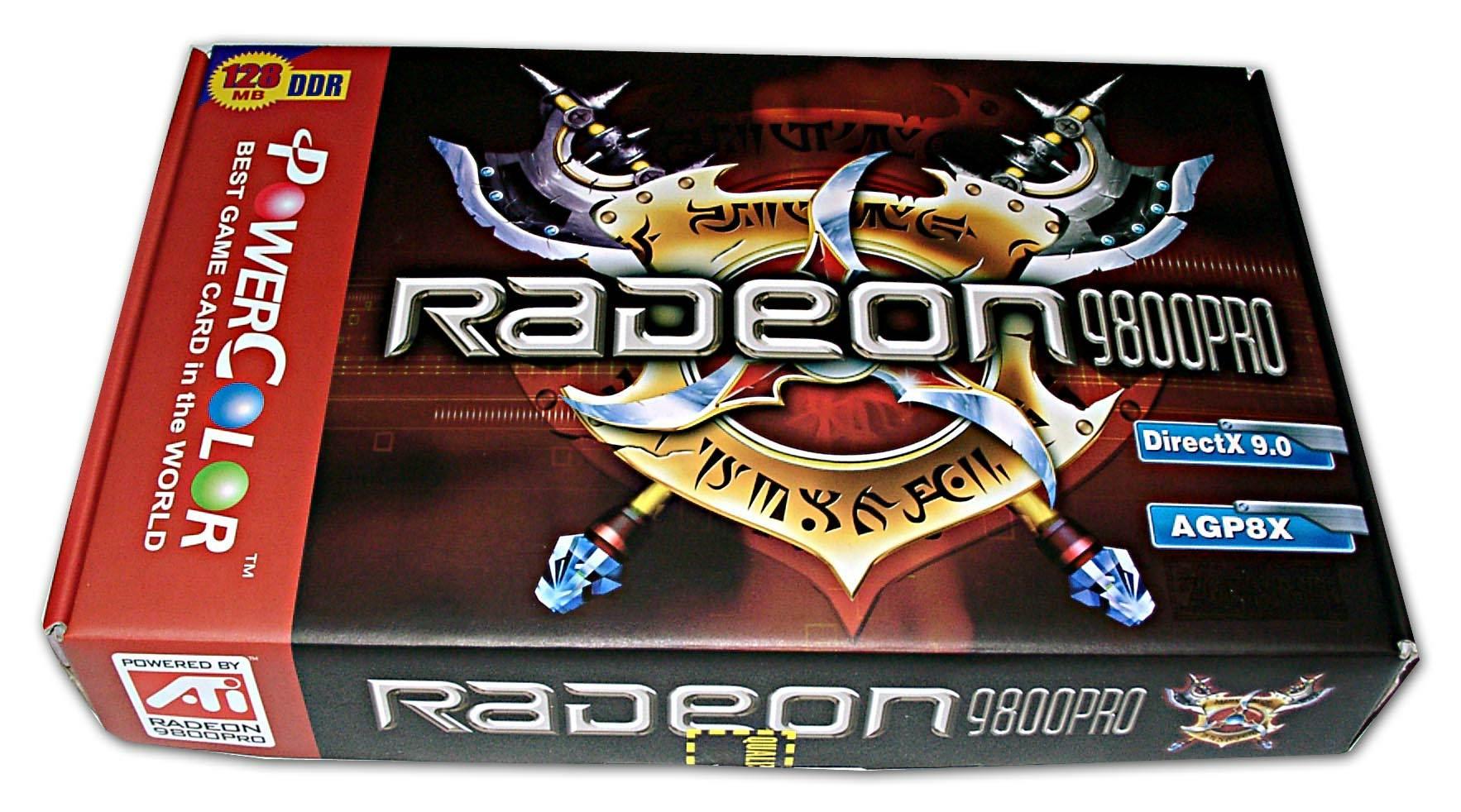 Gigabyte RADEON 9800 PRO GV R98P128D