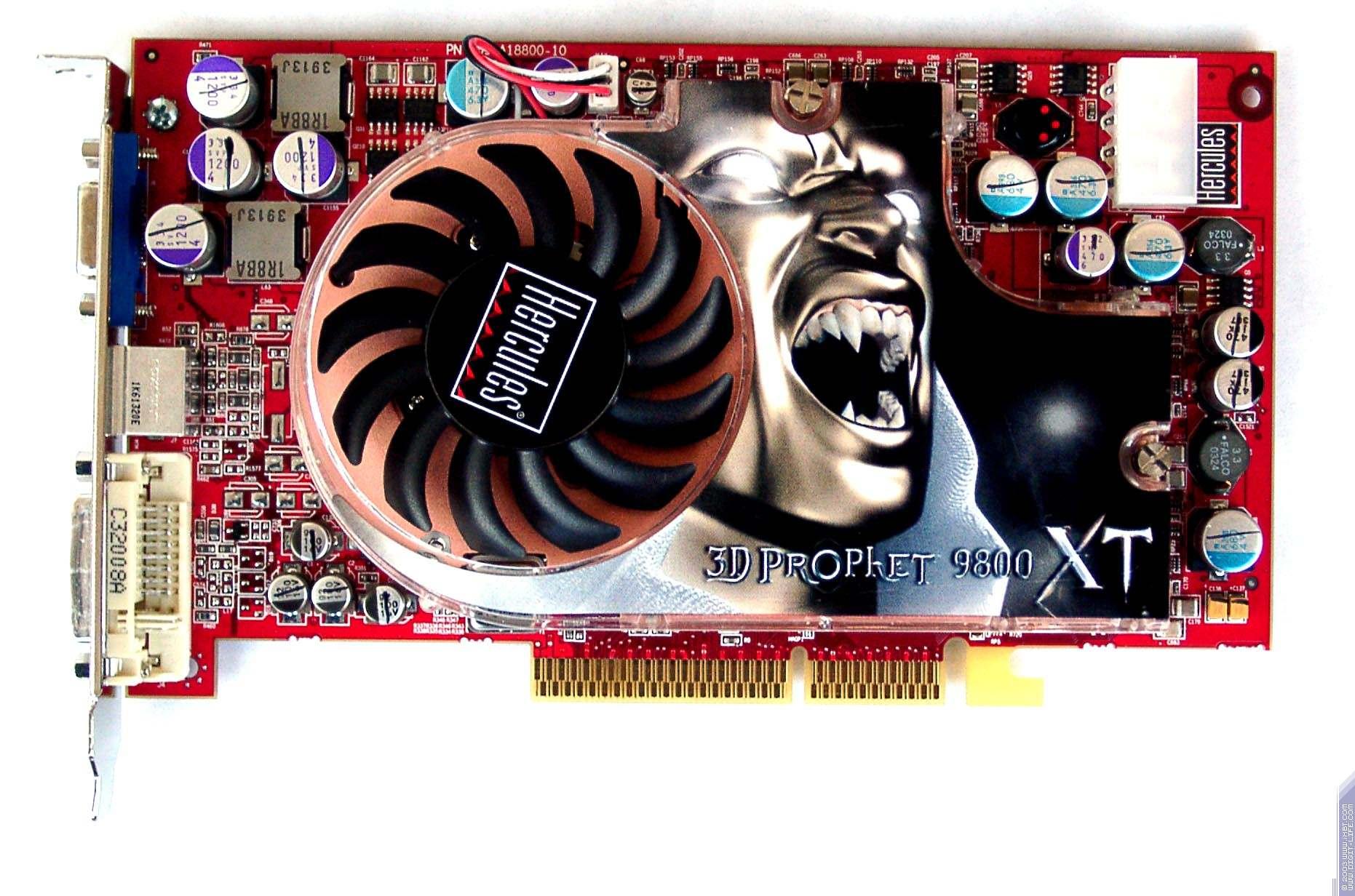 Hercules 3D Prophet 9800 XT 256MB