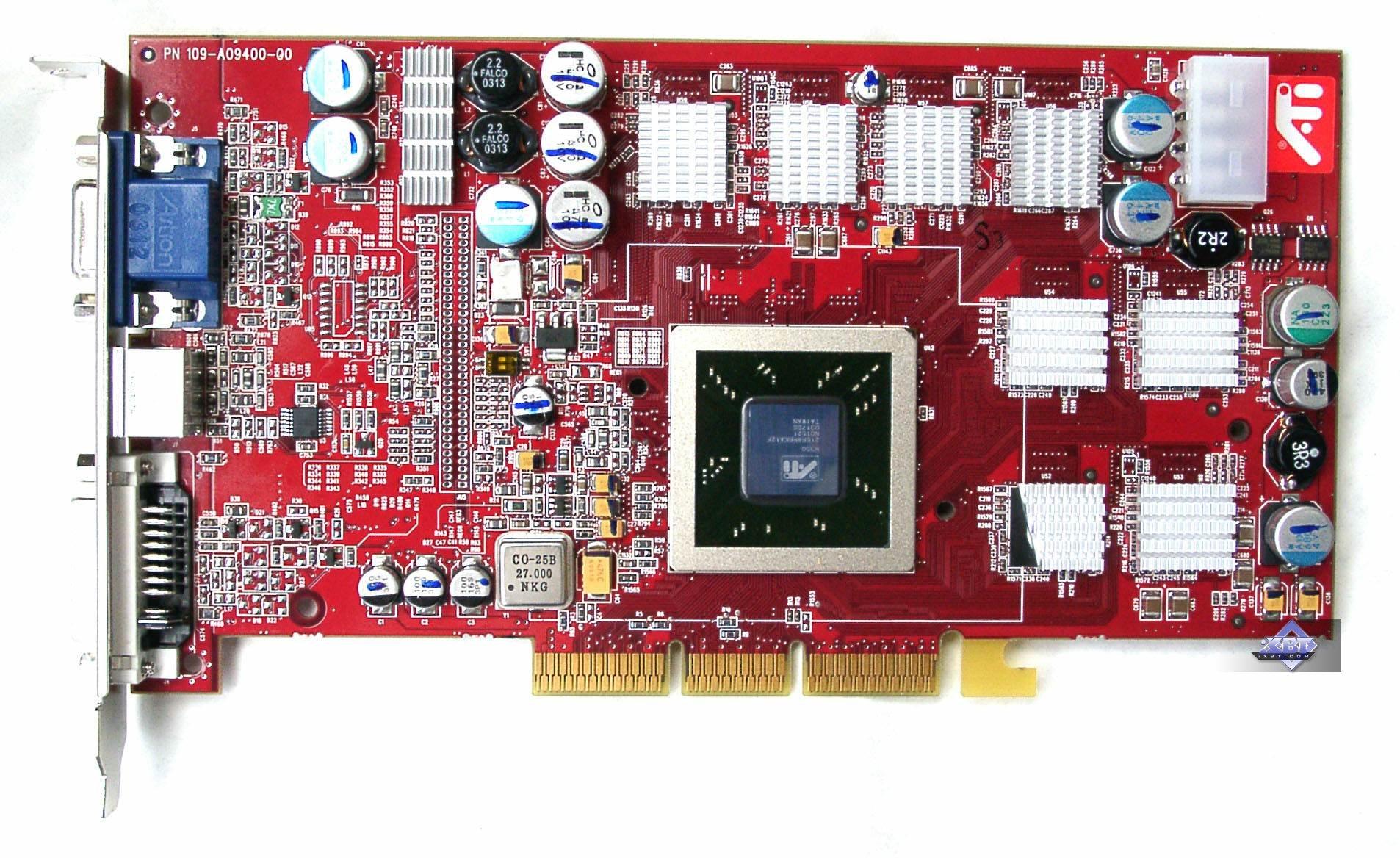 Reference Card ATI RADEON 9800 PRO