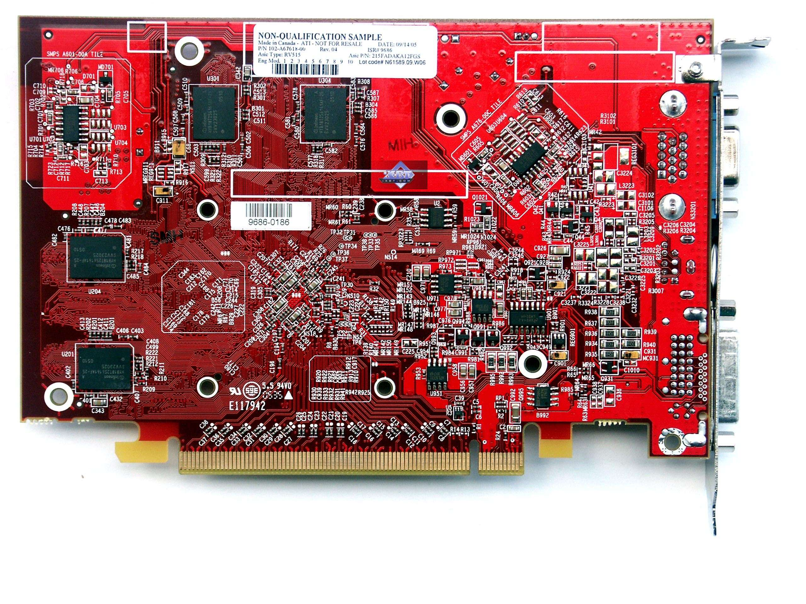 Amazon. Com: new ati radeon x1300 pro 256mb agp dvi vga graphics.