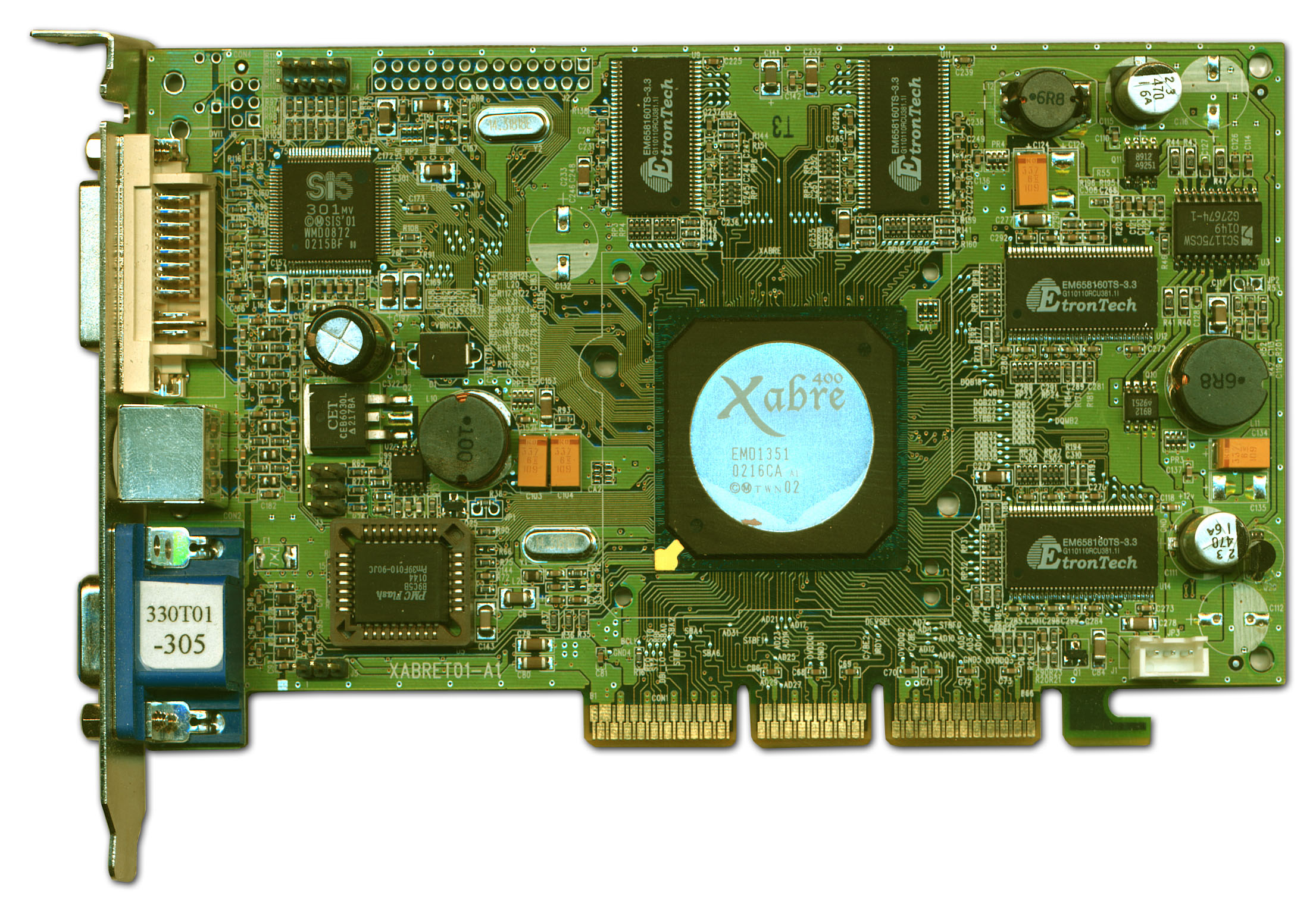 pilote carte graphique sis 315 integrated
