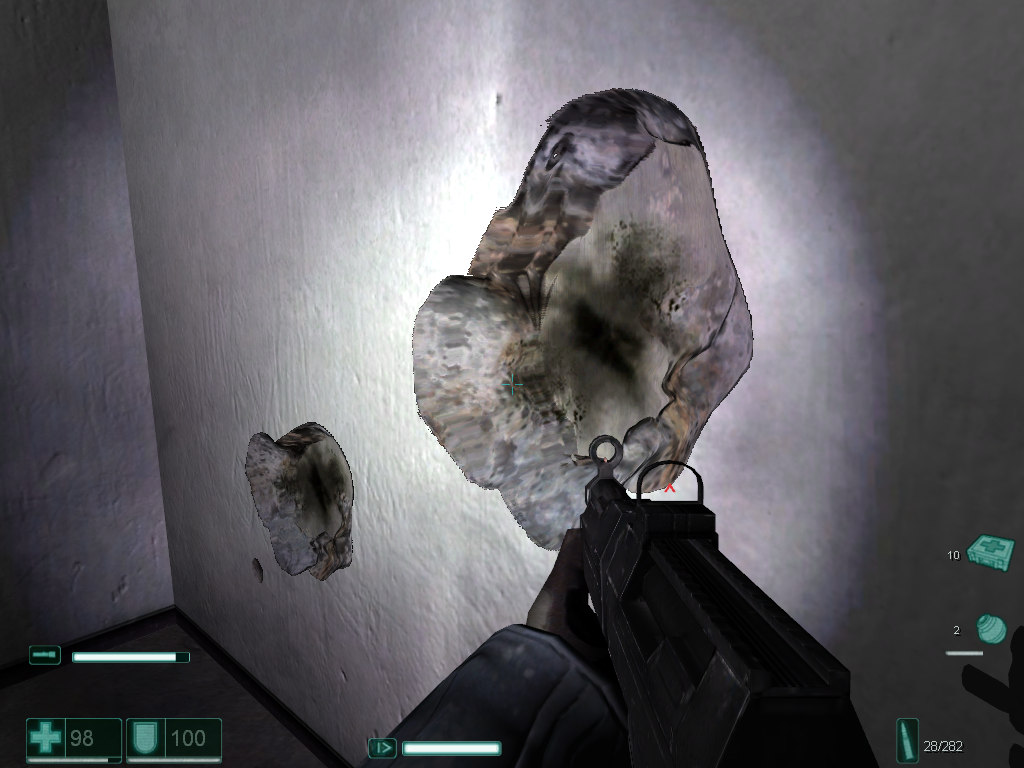 Resultado de imagem para fear game bullet impact
