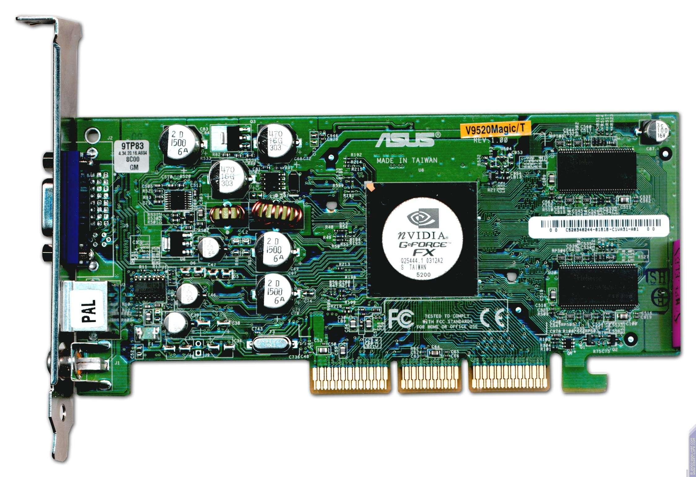 скачать видеодрайвера для geforce fx5200