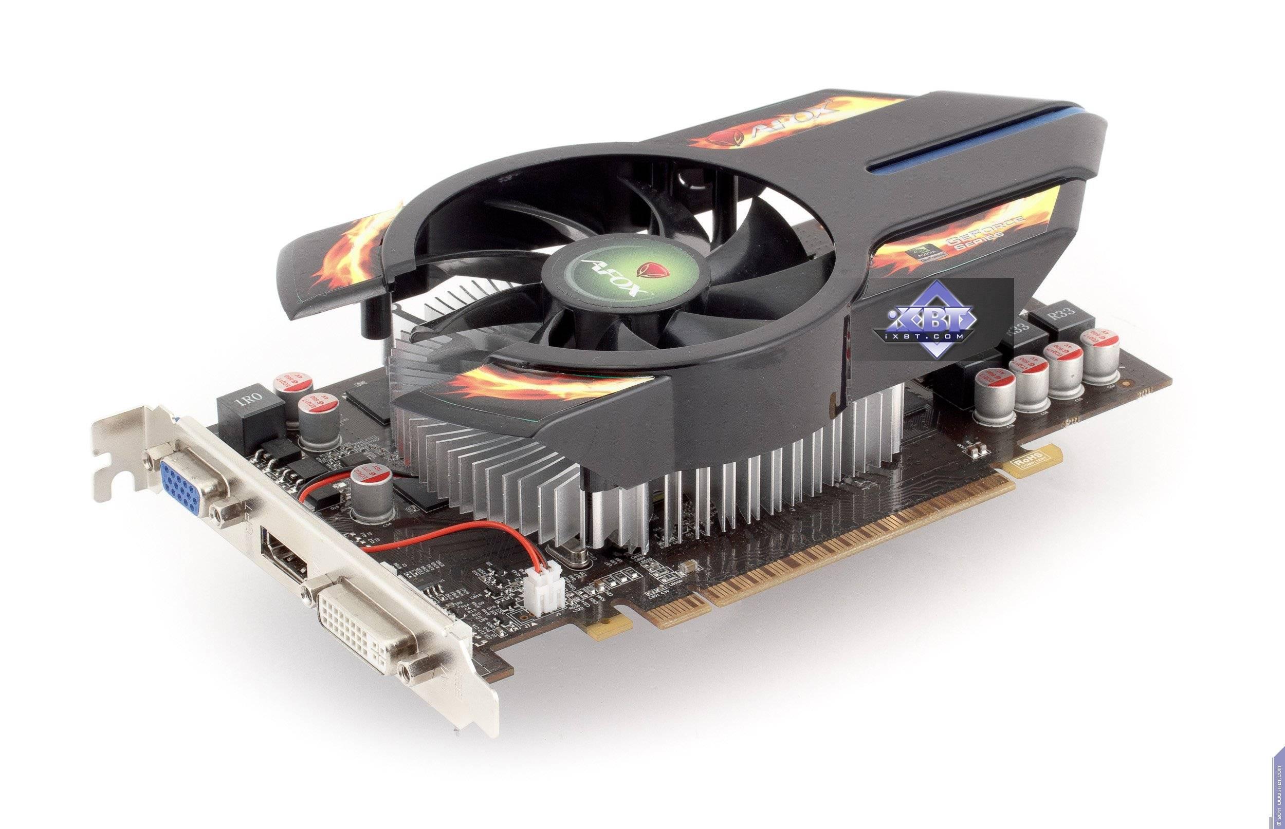 Обзор Radeon HD 6850, Geforce GTX 550 Ti в исполнении AFox