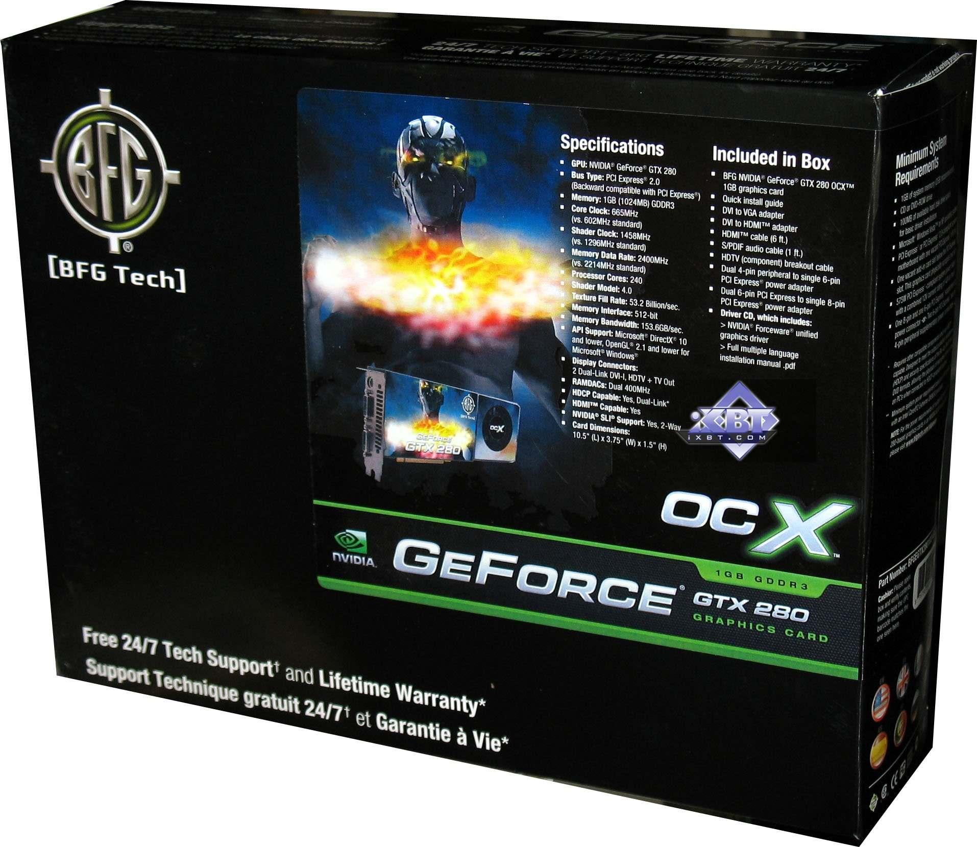 iXBT Labs - BFG GeForce 8800 GT, 9600 GT, GTX 280 OCX - Page 3