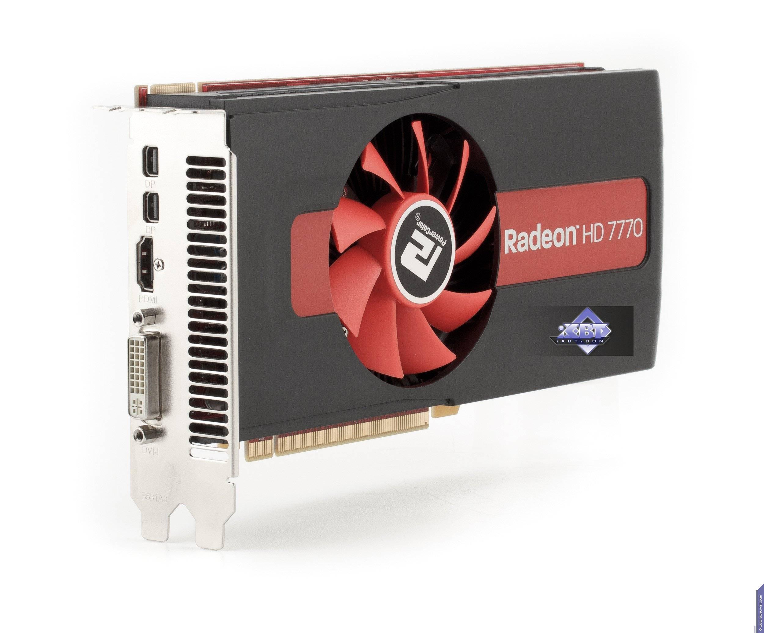 Pubg Radeon Hd 7770: AMD Radeon HD 7770/7750
