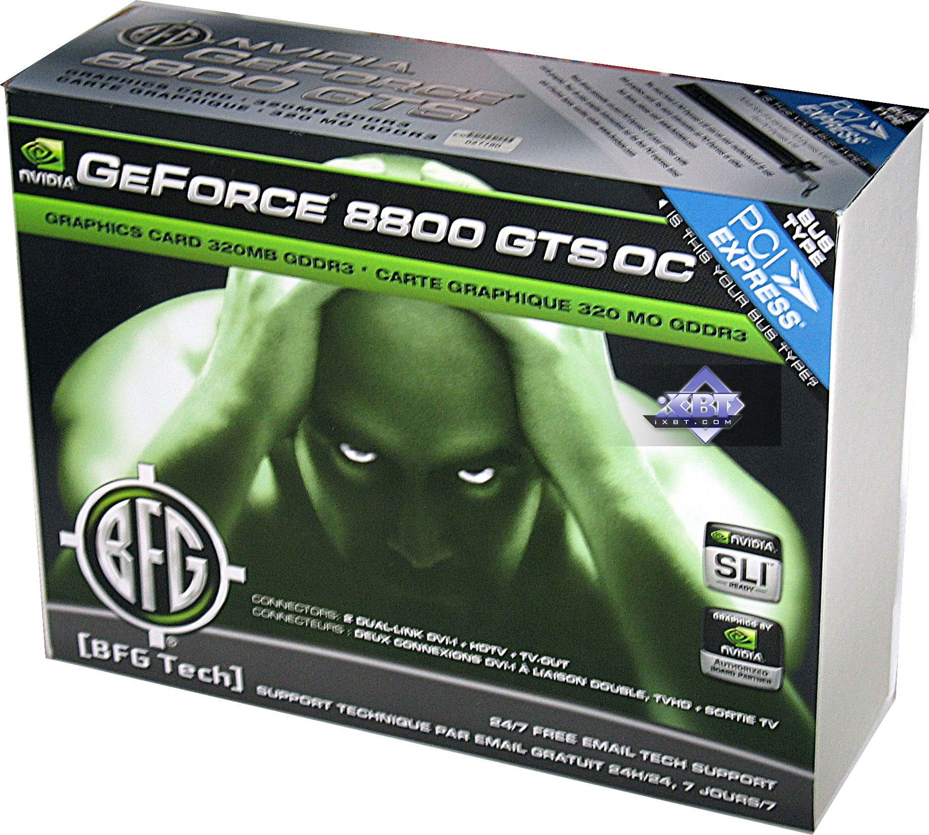 BFG GeForce 8800 GTS Overclocked 320MB PCI E