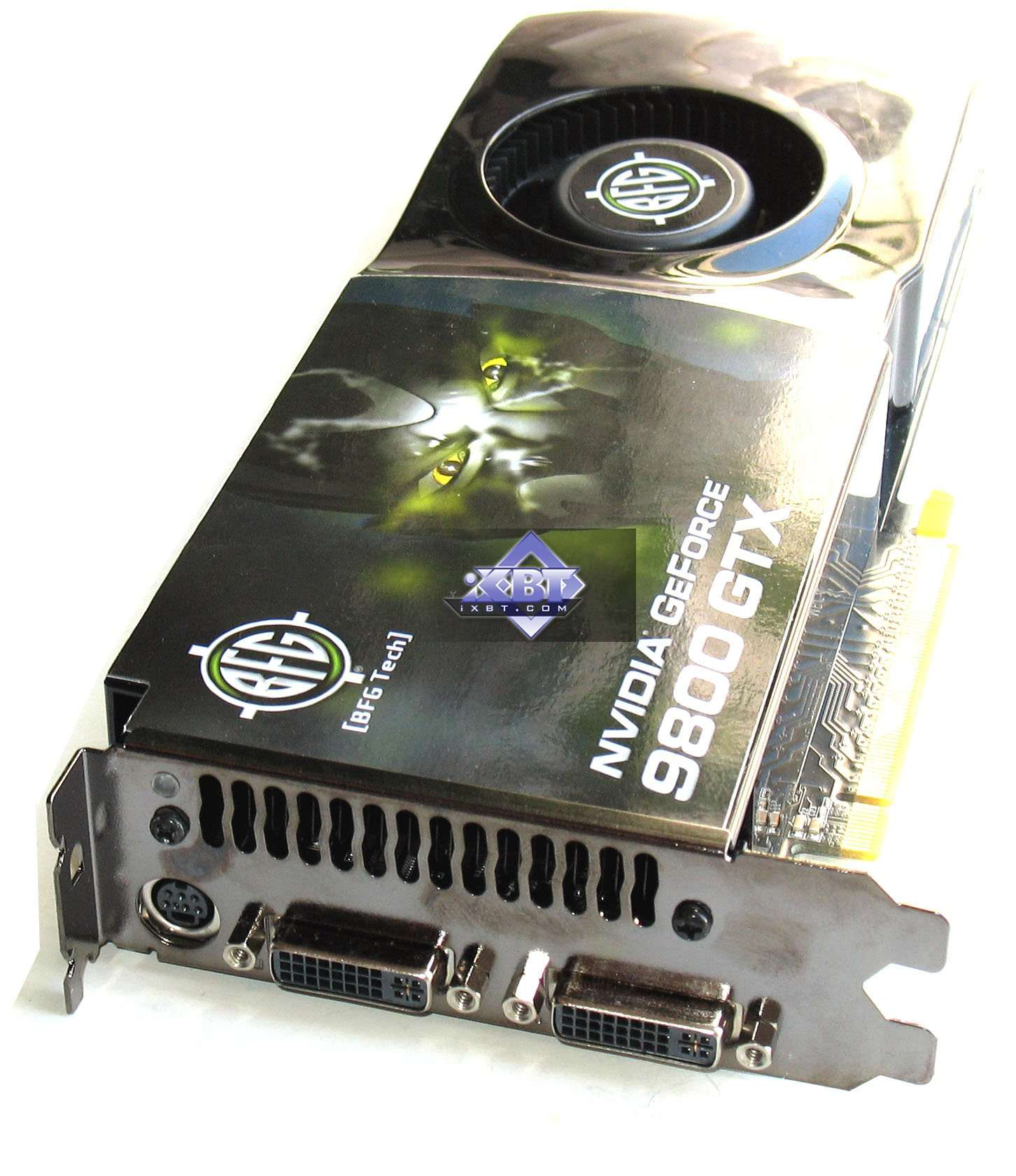 Video card GeForce 9800 GTX: review, features, reviews 35