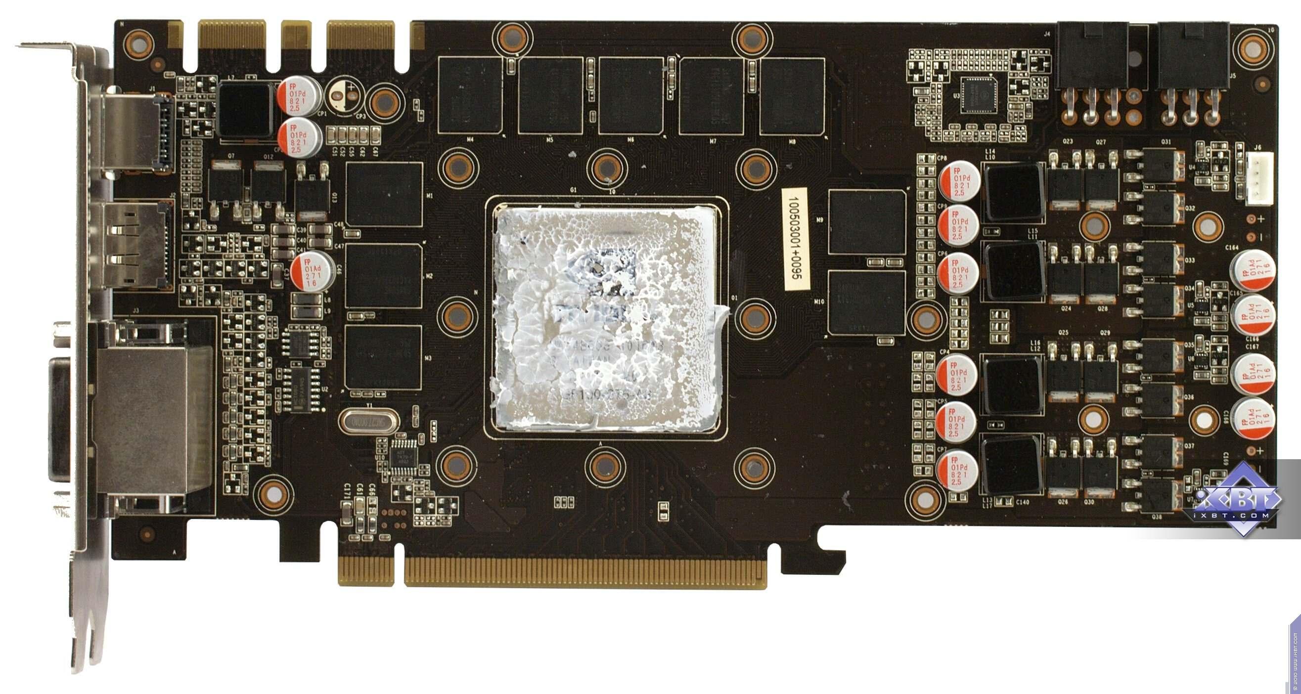 Панель выводов palit geforce gtx 470 содержит не три, а четыре видеовыхода: два dvi-d, hdmi и displayport