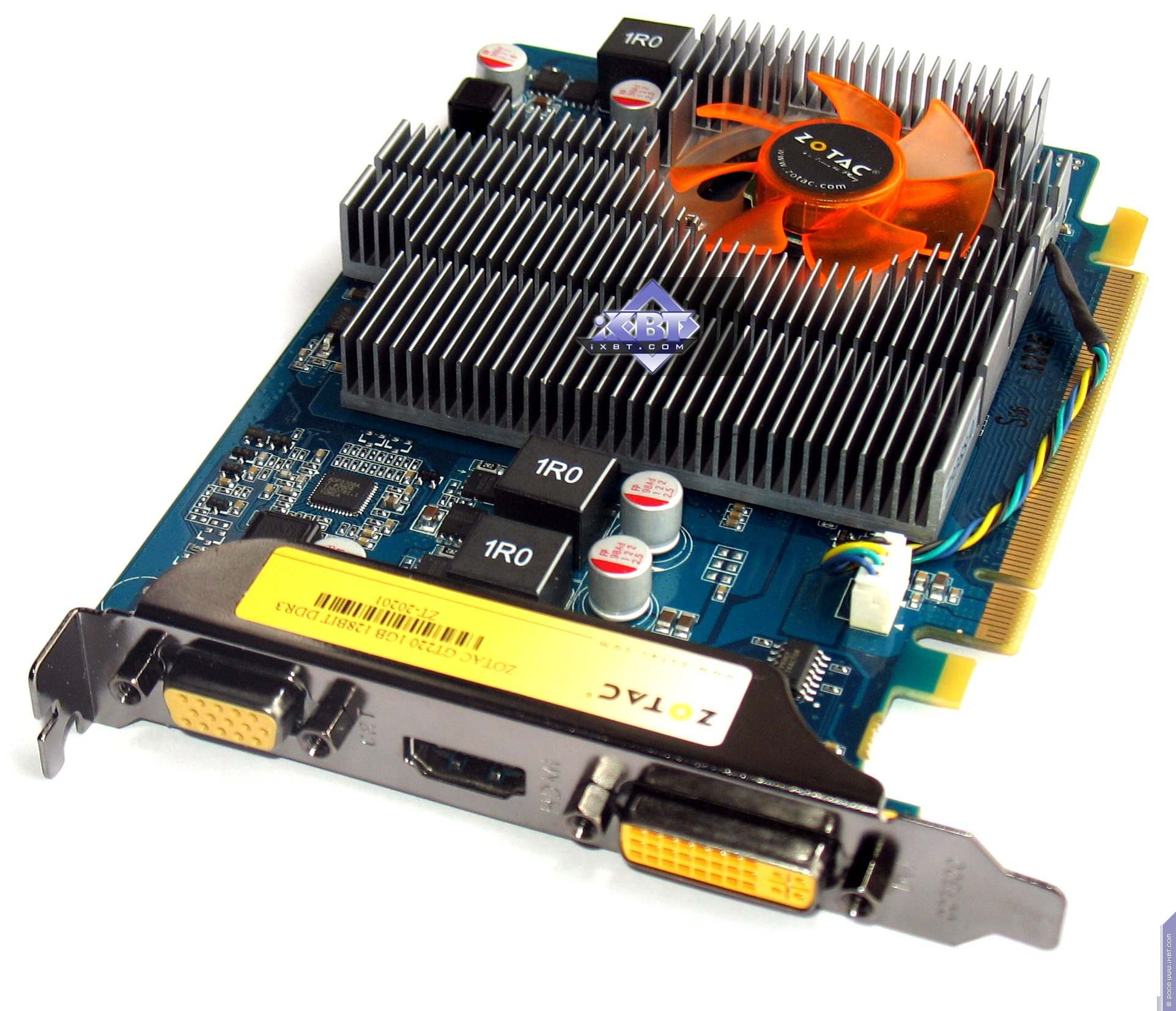 NVIDIA GeForce GT 220 graphics card: review, features and reviews 61