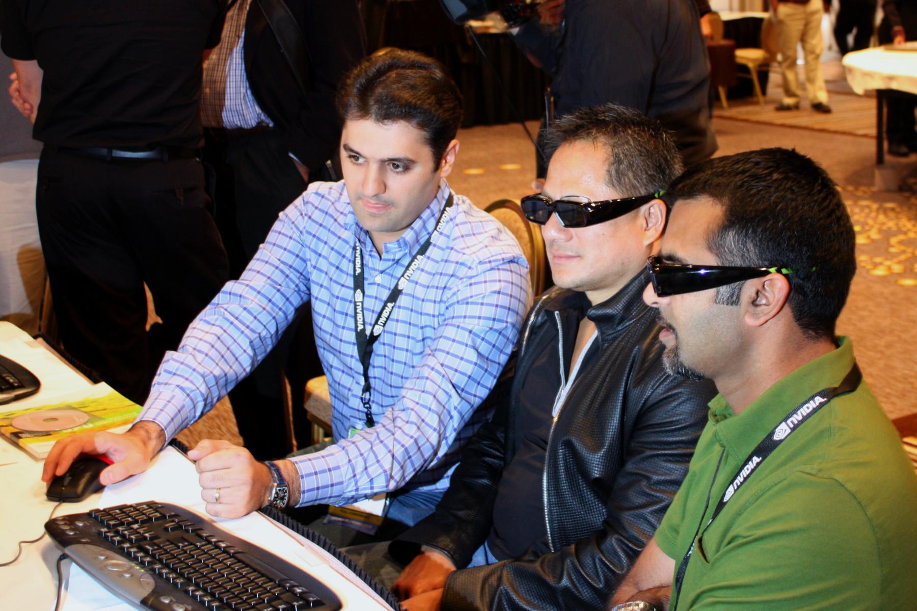 Комплект 3d vision технология 3d vision