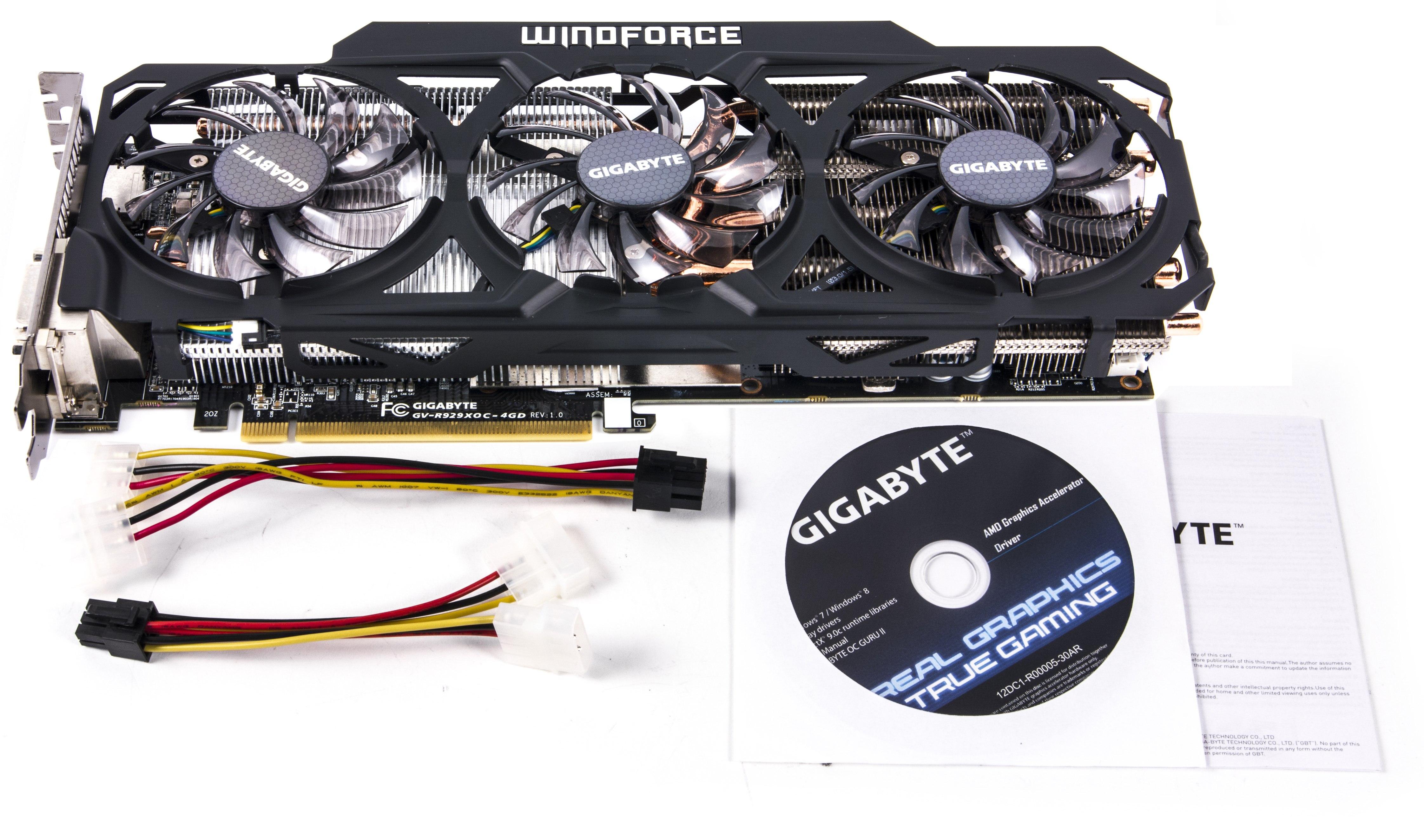 Radeon R9 290X в исполнении Asus и Gigabyte