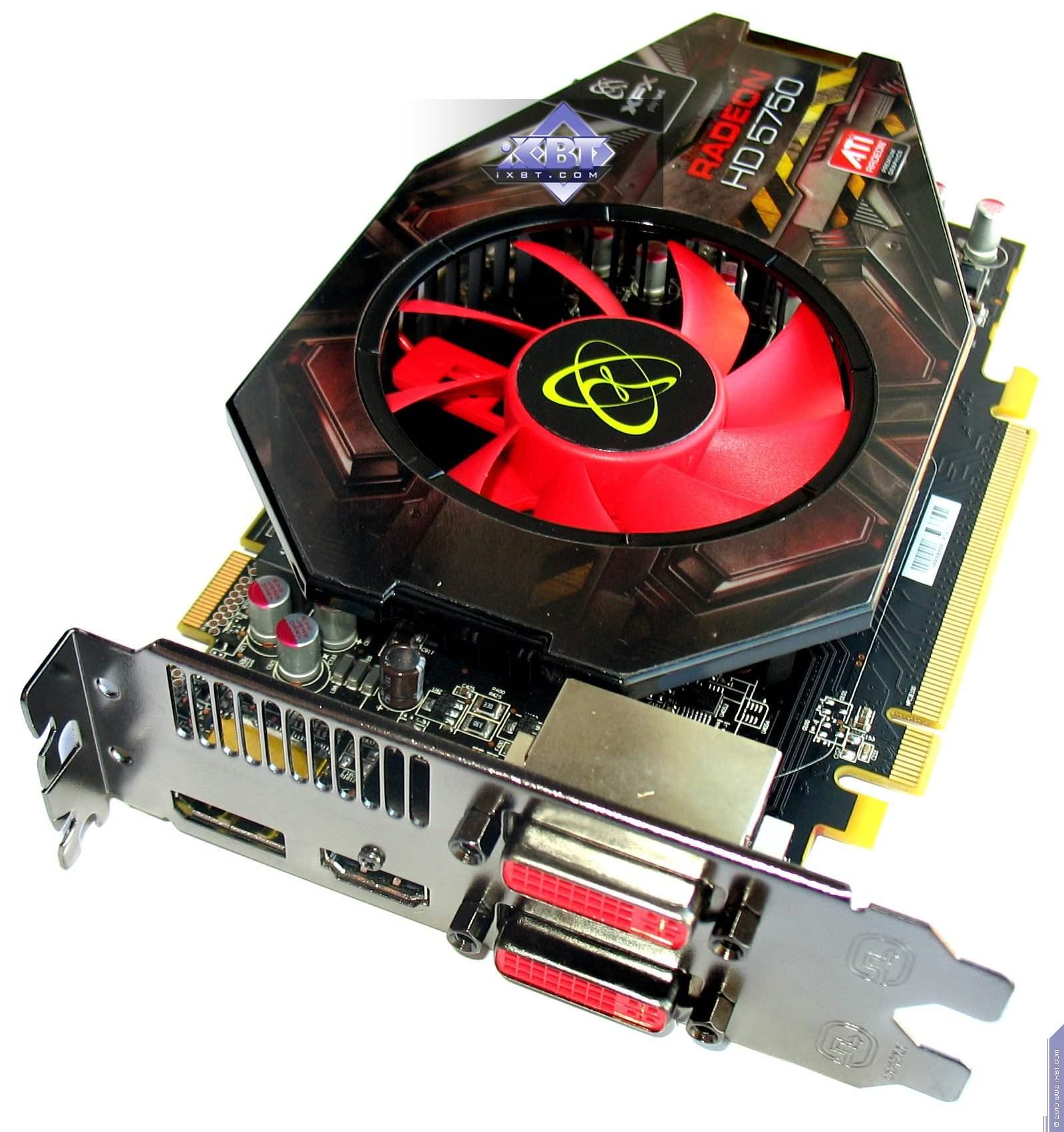 Ati Radeon 5750 драйвер