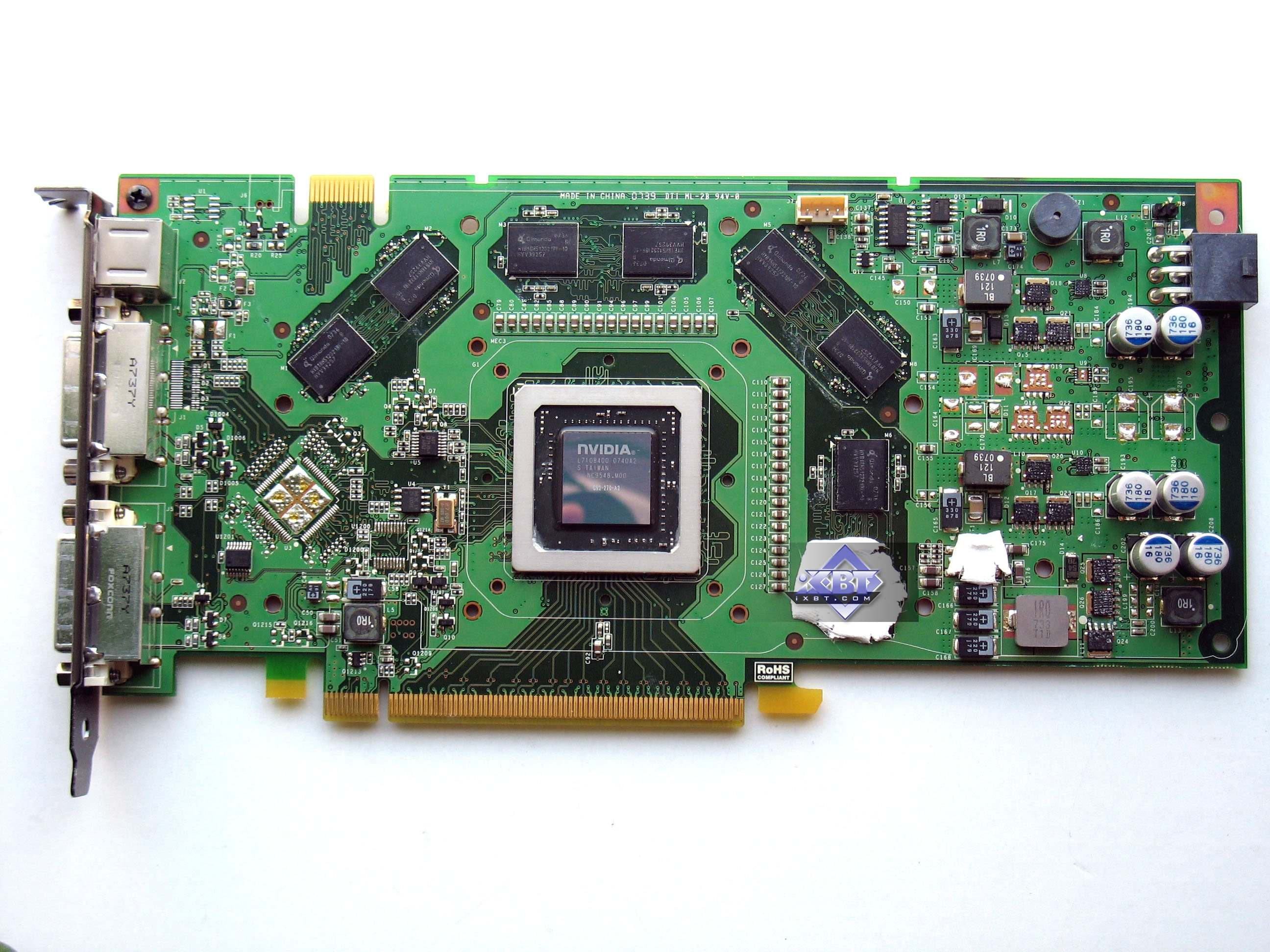 Reference Card NVIDIA GeForce 8800 GT