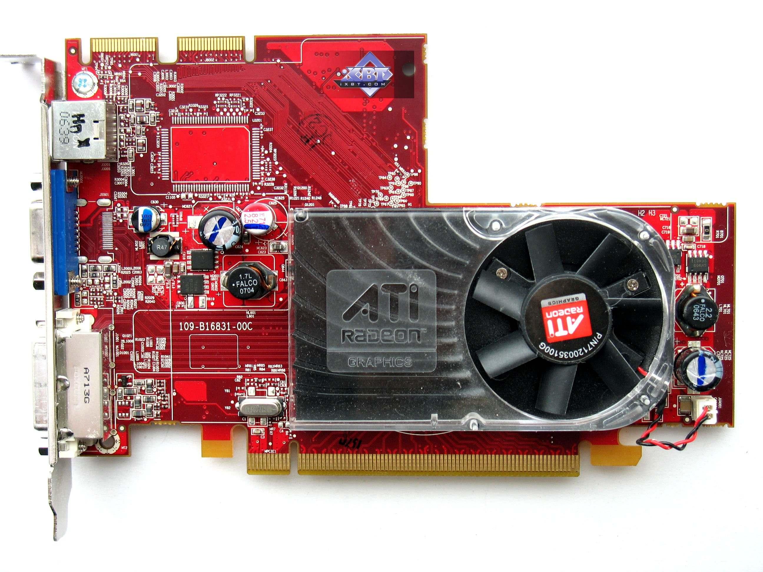 AMD/ATI Mobility Radeon X1300 drivers for Windows XP 32bit (33 files)