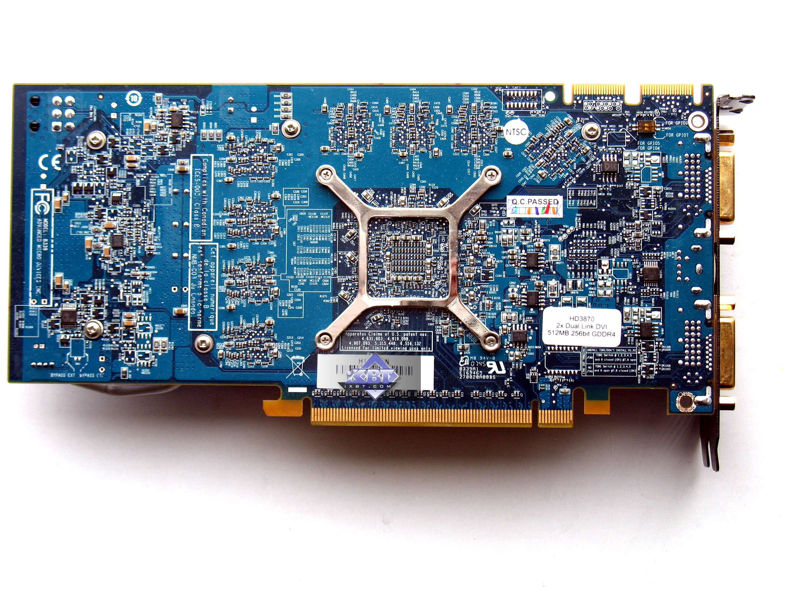His ati radeon hd 3870