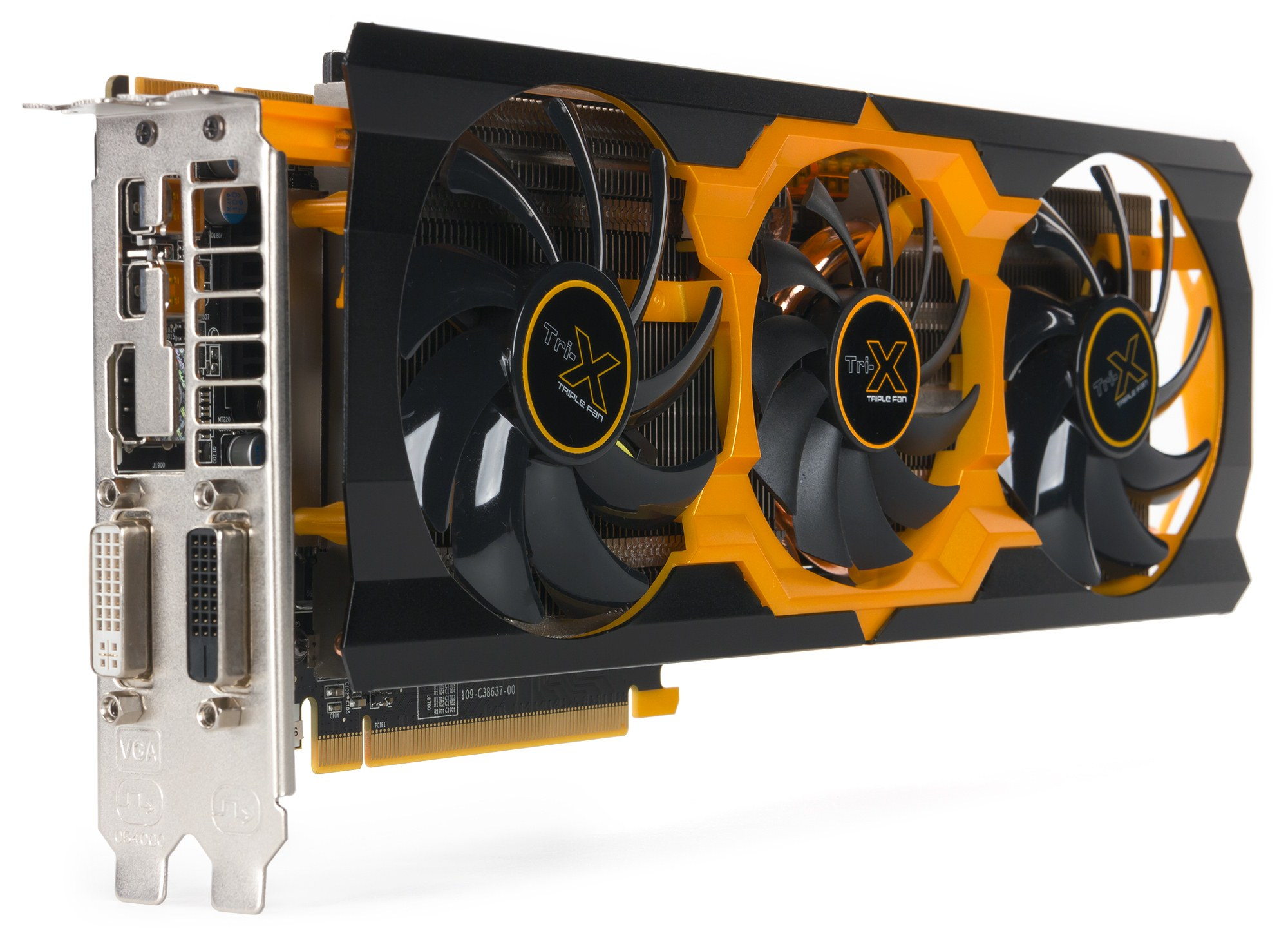 AMD Radeon R9 280X 3072 MB 384-битной DDR5 (1050/1050/6000