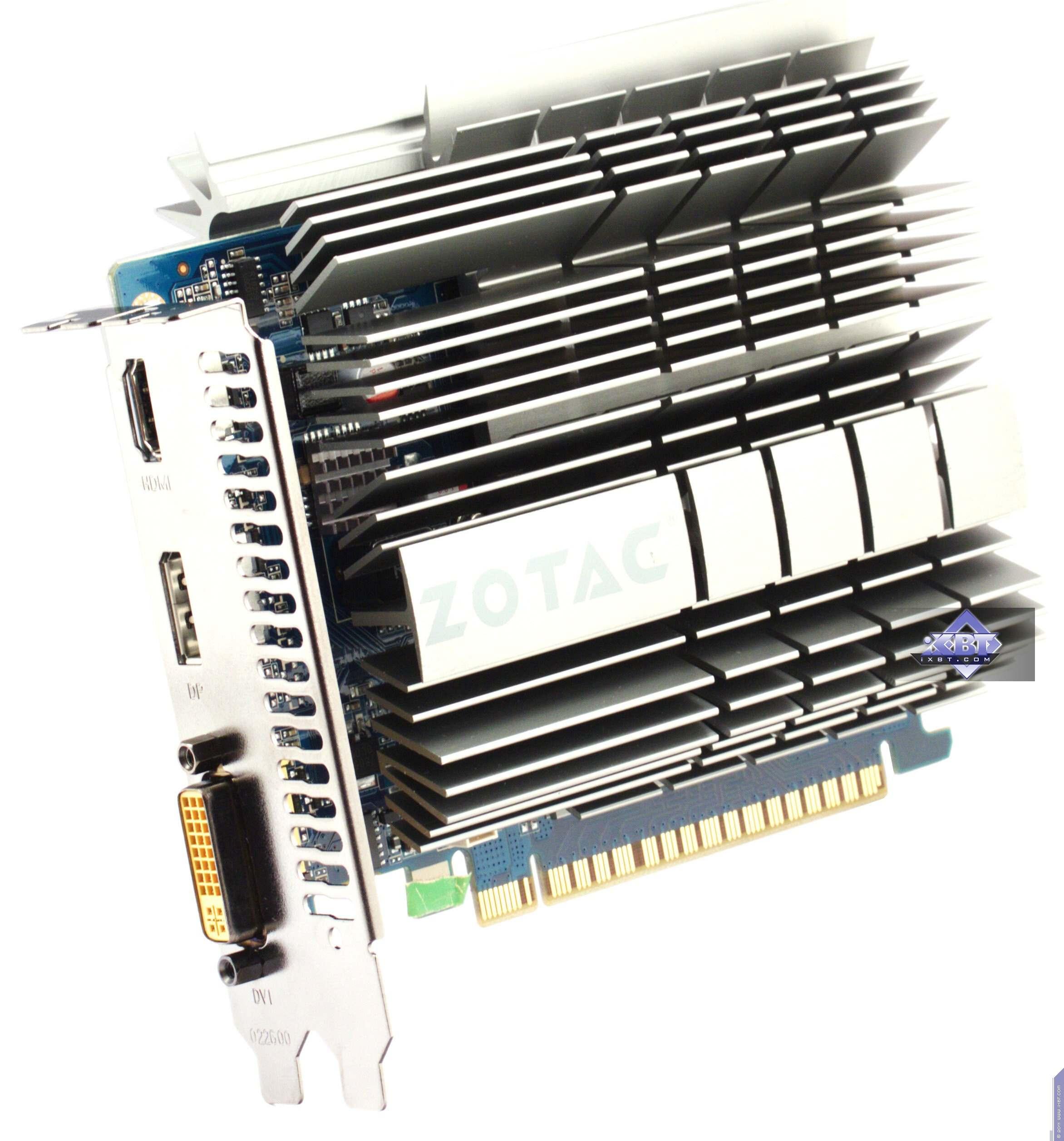Ixbt Labs Zotac Geforce Gt 430 Zone Gts 450 Amp Gtx 460 Amp