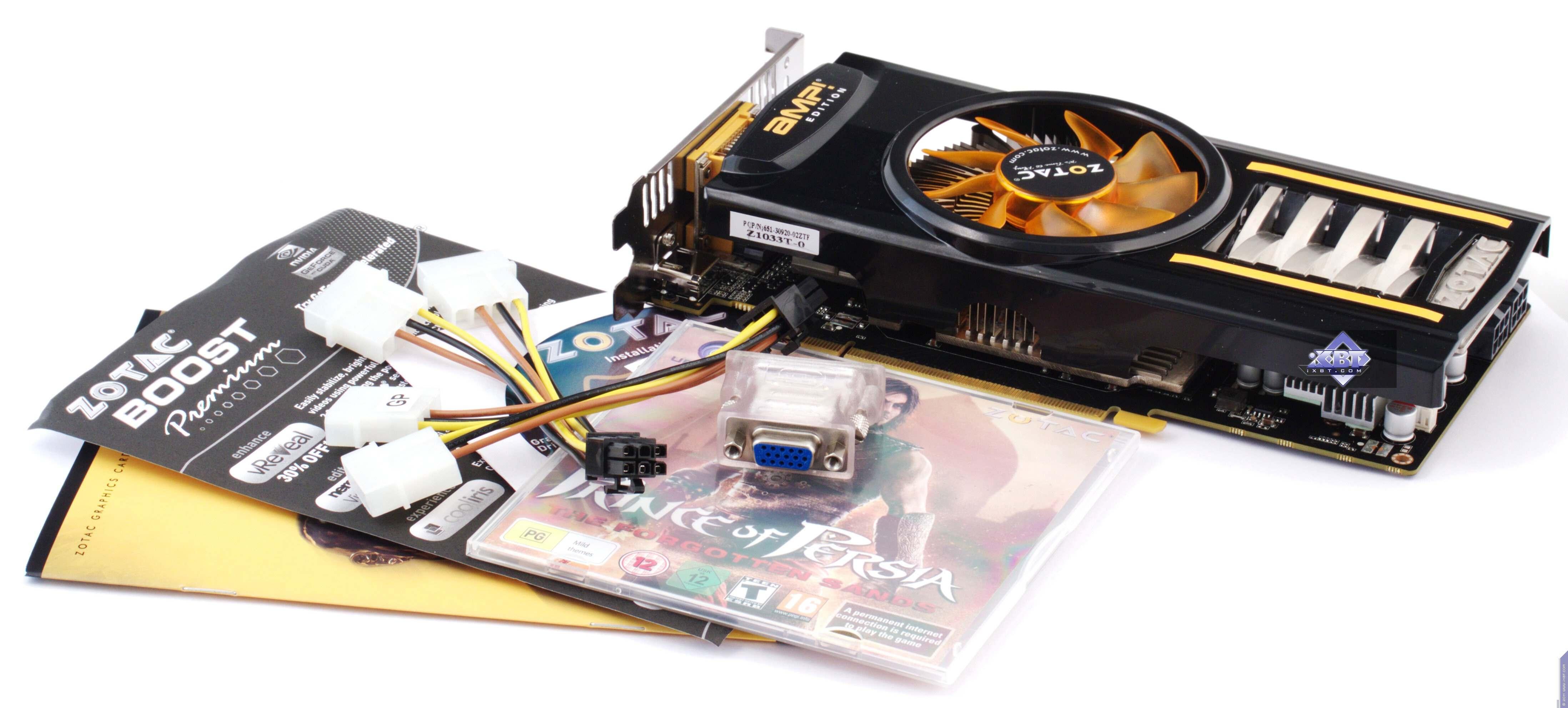 iXBT Labs - Zotac GeForce GT 430 ZONE, GTS 450 AMP!, GTX 460 AMP