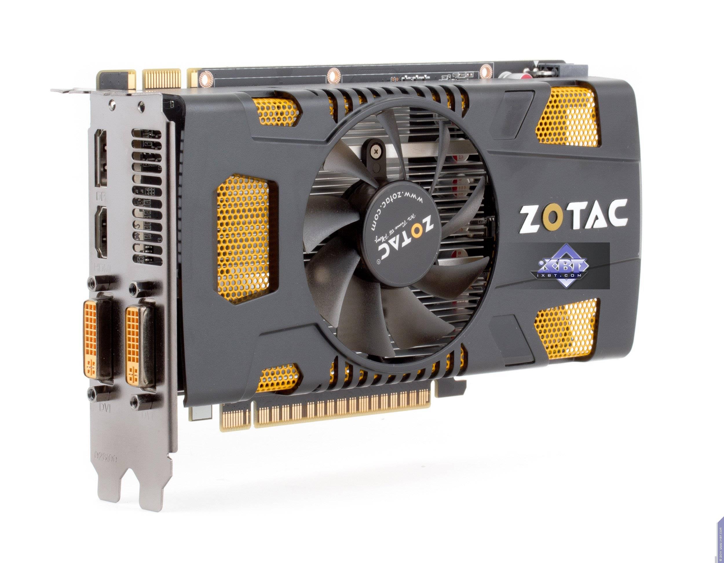 Zotac Geforce GTX 550 Ti драйвер