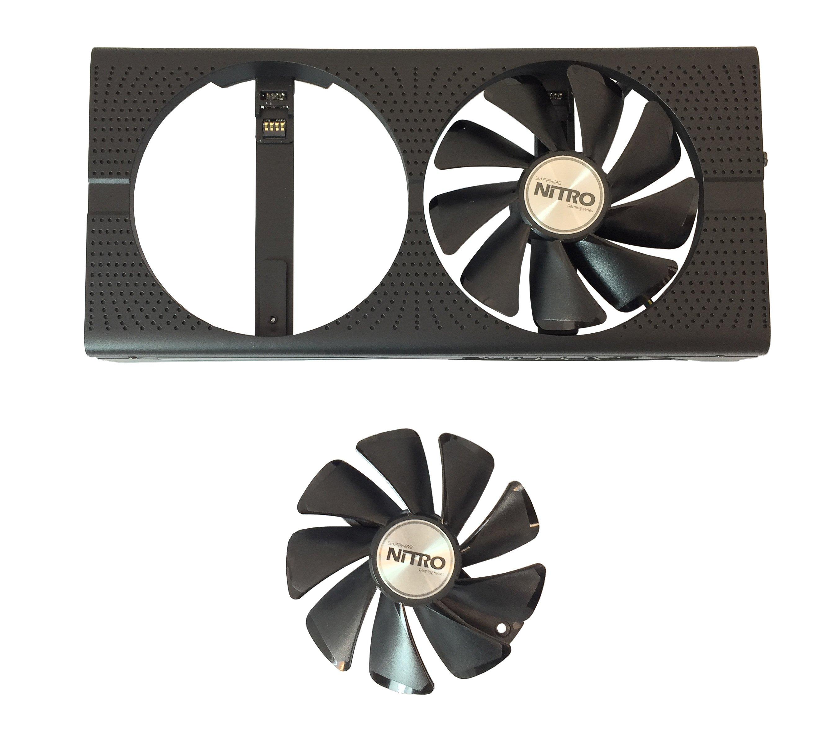 Видеоускоритель Sapphire Nitro+ Radeon RX 470 (4 ГБ):